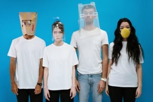 Fear of the Coronavirus leads to some interesting DIY masks.