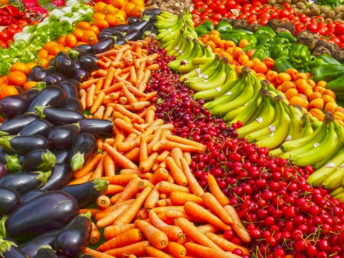 Fresh food for histamine solutions